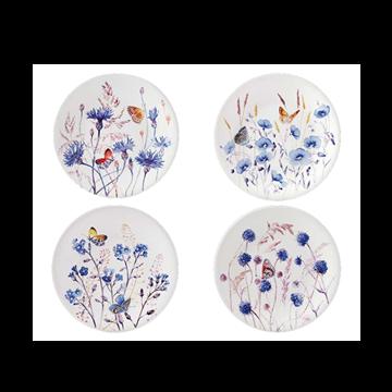 Picture of Azur 4 Dessert Plates Ø 22 cm