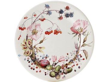Picture of Bouquet 4 Dessert Plate Floral Ø 22 cm