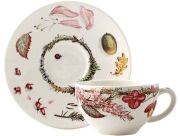 Picture of Bouquet 2 Tea Cup & Saucer 16 cl, Ø 15.2 cm