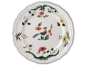 Picture of Oiseaux de Paradis 4 Dinner Plates Ø 26 cm