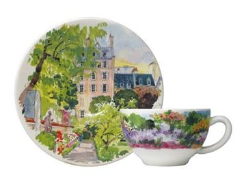 Picture of Paris à Giverny 2 Tea Cups & Scrs 19 cl - 15,2 cm