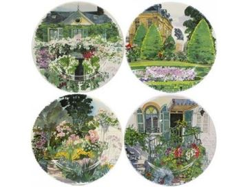 Picture of Paris à Giverny 4 Dessert Plates Assorted Ø 21,8 cm