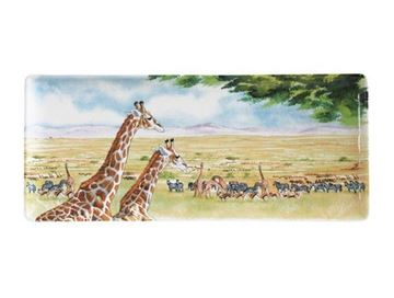 "Picture of Safari 1 Oblong Serving Tray 36 x 15,5 cm - 14"" long"