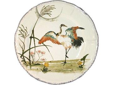 Picture of Grands Oiseaux 1 Luncheon plate Grue Ø 26,3 cm