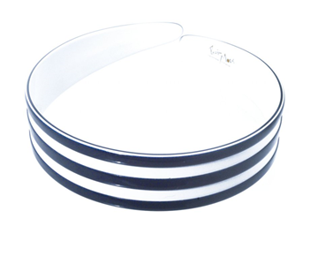 Picture of Alice Band Navy and White