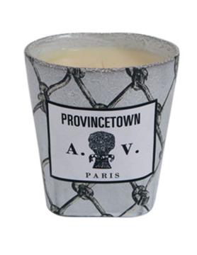 Picture of John Derian and Astier de Villatte Provincetown candle white