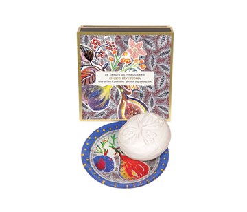 Picture of Encens Fève Tonka (Incense Tonka Bean) SOAP & DISHSOAP