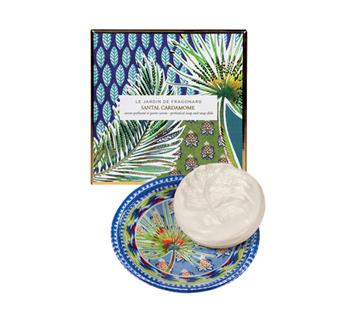 Picture of Santal Cardamome (Sandalwood Cardamom) SOAP & SOAPDISH